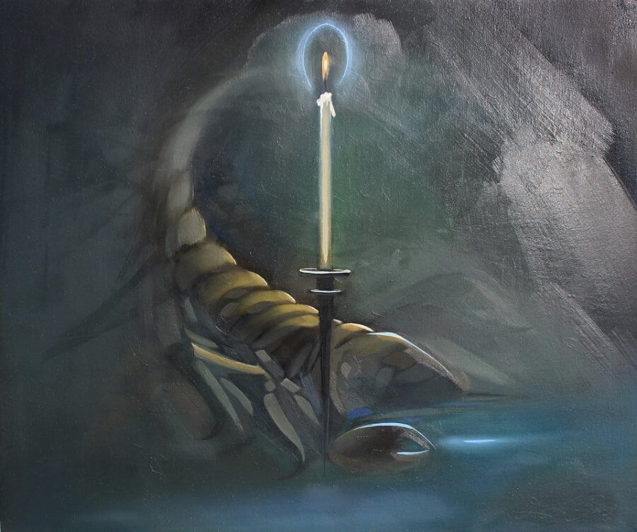 Žvakės šviesoje (Skorpionas)