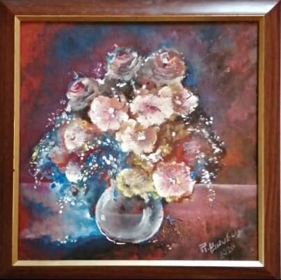 Gėlės stikle