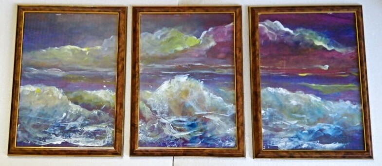 Bangos ir debesys – triptikas