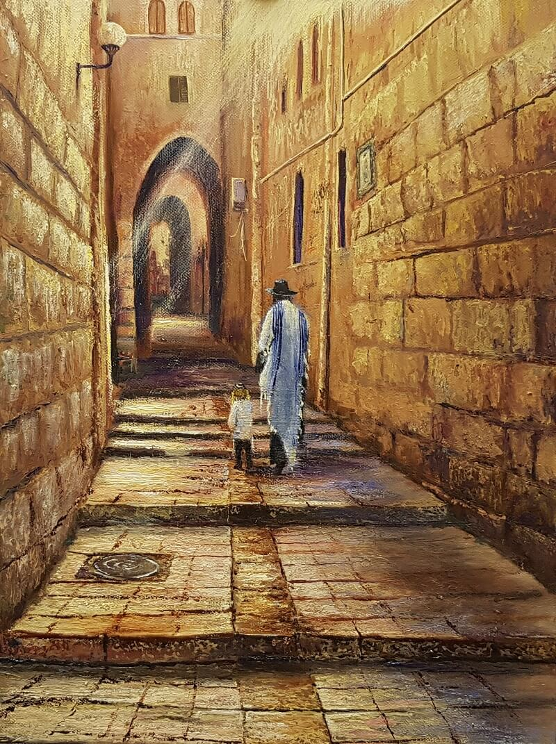 Jeruzalės senamiestyje