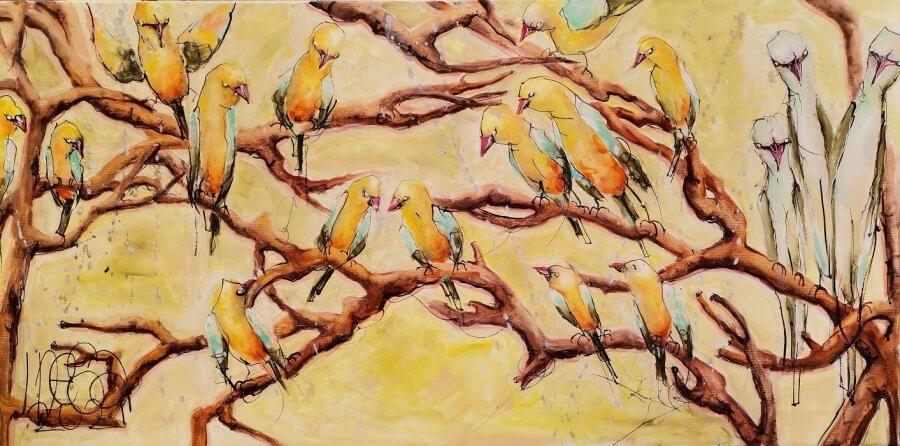 Paukščiai XI