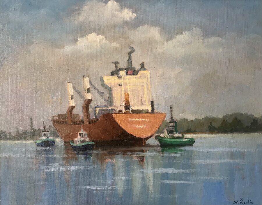Laivai mariose