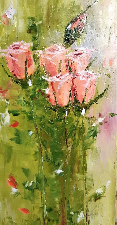 Rausvos rožės