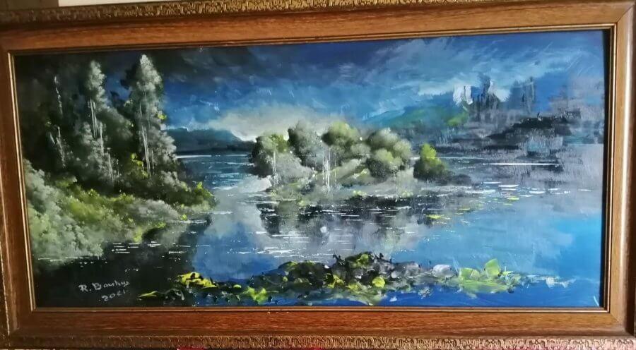 Ežero mėlis