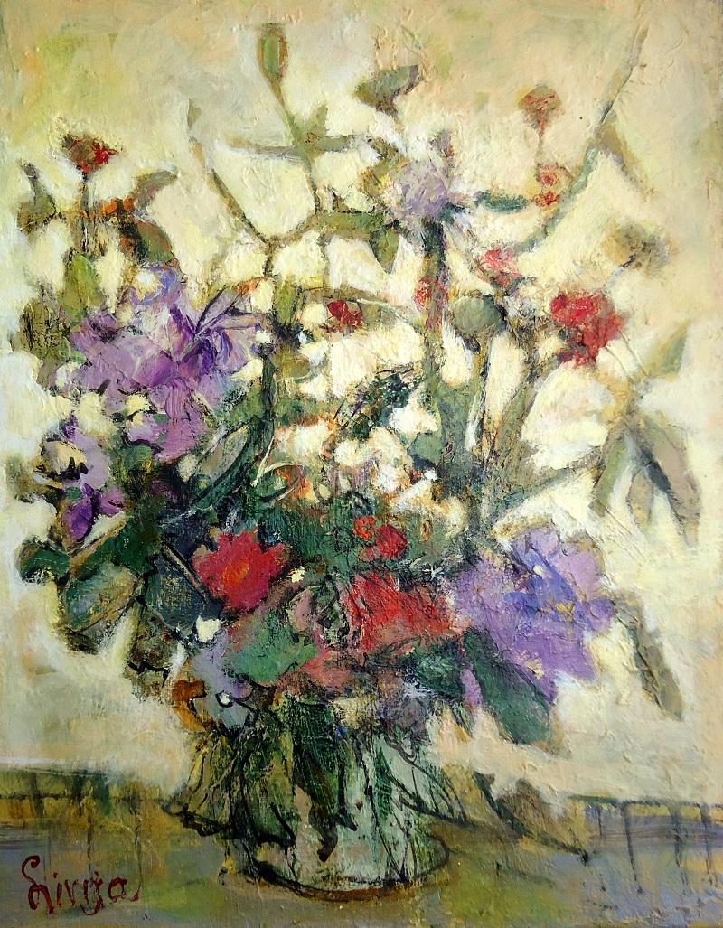 Gėlių natiurmortas