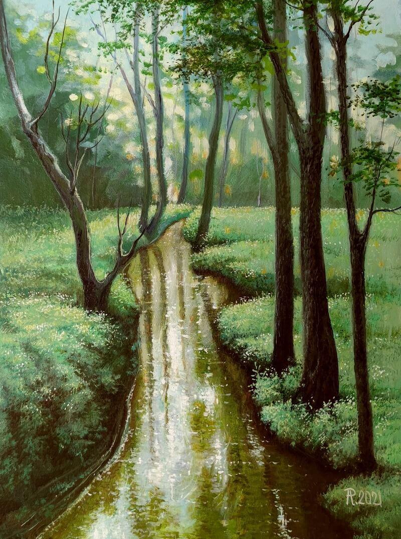 Upelis miške